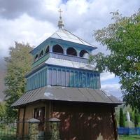 С.Нижнє Синьовидне.Дзвіниця церкви Успіння Богородиці.