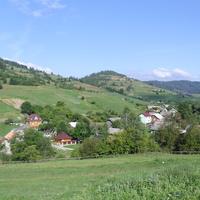 Плав'є. Панорама села