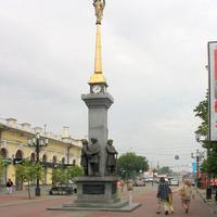 Челябинск, 2006 г. Улица Кирова. Часы