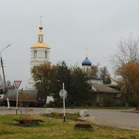 Успенская церковь в Малино