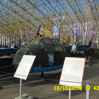 Музей  под открытым небом в парке Победы