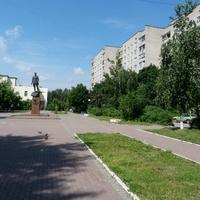 улица Ленина в микрорайоне ЗАРЯ,