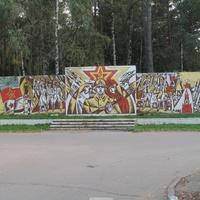 обелиск памяти героев. Микрорайон Заря