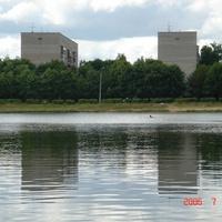 Озеро в Заре.