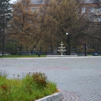 Фонтан в сквере ДК Москворечье