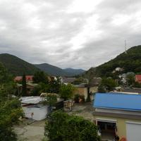 Аше. Вид на посёлок