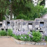 Меморіальна стіна спалених сіл Овруччини, споруджена до 50-річчя Перемоги в Словечному