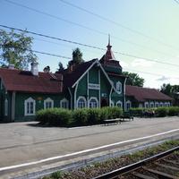 вокзал в Медвежьегорске