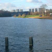 Вид с городской плотины