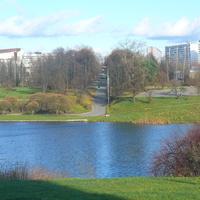 Вид на водохранилище
