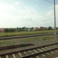 Отъезжая от станции