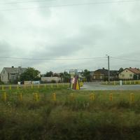 Улица Радзинска со стороны железной дороги