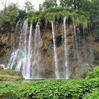 """Национальный парк """"Плитвицкие озера""""."""