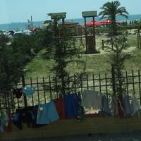 Дуррес, кусочек пляжа