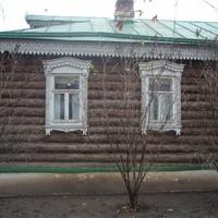 Домик Сергея Есенина.