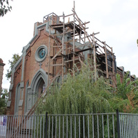 Бердянск. Реконструкция евангелическо-лютеранской кирхи.