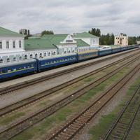 Бердянск. Железнодорожный вокзал.