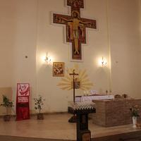 Бердянск. В католическом храме.