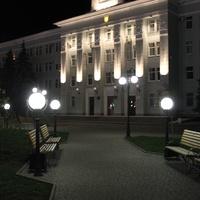 Бердянск. Город ночью.