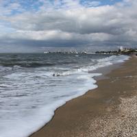 Бердянск. Центральный пляж.