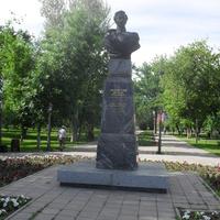 г.Оренбург бюст губернатору края В.А.Перовскому в парке им.Перовского