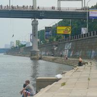 Набережная и Пешеходный мост