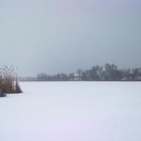 Река Иржавец зимой в районе улицы Щорса