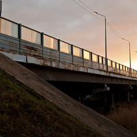 Мост через реку Ижору