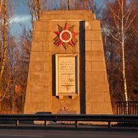 Памятник воинам Ленинградского фронта