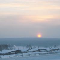 Winter in Tabarsuk