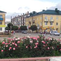 Пересечение улиц Гагарина и Мира.