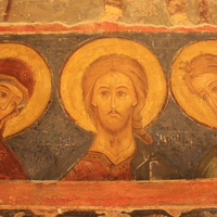 Суздаль. Фреска XIII века.