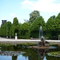 дворец Шернбурн, парк, фонтан