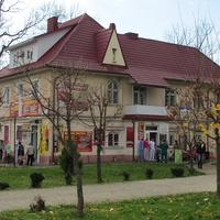 Здание возле бювета