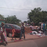 уличный базарчик