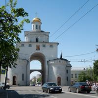 Золотые ворота, церковь