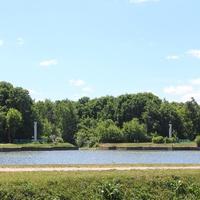 Пруд перед дворцом (Большой пруд) - Живописный пруд