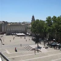 Площадь перед Папским дворцом