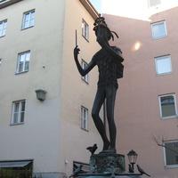 Фонтан Папагено (Papagenobrunnen)