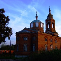 Церковь Тихона Задонского, на закате