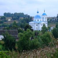 Волово, храм, август 2013