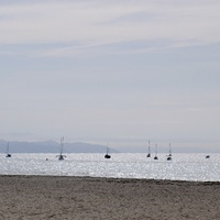 Пляж в Санта Барбаре