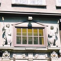 Гданьск, фрагмент здания в исторической части