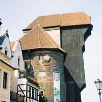 Гданьск, фрагмент лифта в исторической части