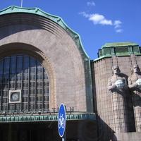Центральный вокзал Хельсинки, фрагмент