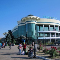 Железнодорожный вокзал Алма Аты