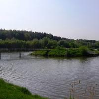 """Лузановка ,""""Остров любви"""",популярное место отдыха молодёжи."""
