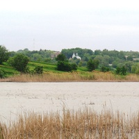Пастирське,один із ставків.