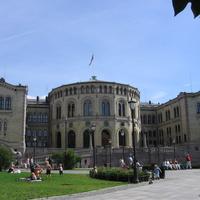 Осло, здание парламента