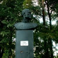 Бюст Героя  Сурнева Н.Г. в селе Большое Городище
